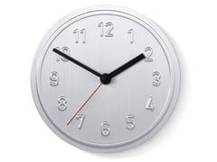 Orologio in alluminio da pareteALU ALU - RICHARD LAMPERT