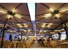 Scolaro Parasol, ALU POKER | Ombrellone con illuminazione  Ombrellone con illuminazione