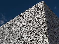 Freund GmbH, ALUSION™ Rivestimento per interni ed esterni in schiuma metallica