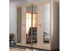 Armadio in legno con specchioAMARCORD NIGHT | Armadio con specchio - CANTIERO