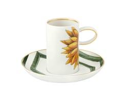 Tazza da caffè in porcellana con piattinoAMAZÓNIA | Tazza da caffè - VISTA ALEGRE