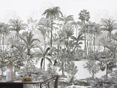 Carta da parati lavabile panoramica resistente ai raggi UV AMAZON HAUTE - Naturels