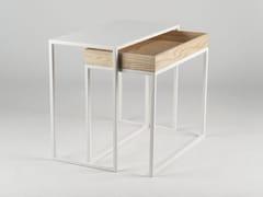 Tavolino impilabile rettangolareAMBROGIO - FORMAE | CAR-MET