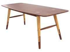 Tavolino rettangolare in legno AMBU | Tavolino rettangolare - Ambu