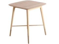 Tavolo alto quadrato in querciaAMBU | Tavolo quadrato - ALANKARAM