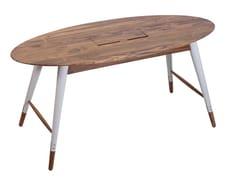 Tavolo ovale in legno AMBU | Tavolo ovale - Ambu