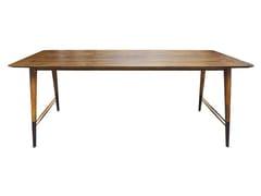 Tavolo rettangolare in legno AMBU | Tavolo rettangolare - Ambu