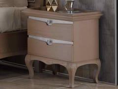 Comodino rettangolare in legno con cassettiAMELIA | Comodino - ARVESTYLE