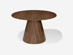 Tavolo rotondo in legnoAMELIA - FUSCHINI