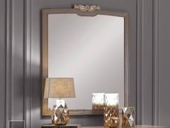Specchio rettangolare in legno con cornice da pareteAMELIA | Specchio - ARVESTYLE