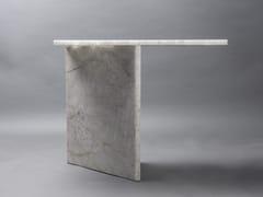 Consolle rettangolare in pietra in stile modernoAND SO I STAND - CLASTE