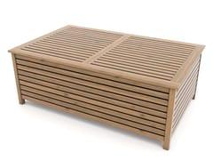 Tavolino basso in abete con vano contenitoreANDROMEDA | Tavolino - ZURI DESIGN