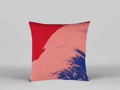 Cuscino a motivi pop art quadrato in tessuto ANDY WARHOL - AW07 - Henzel Studio Heritage: Andy Warhol / Art Pillows