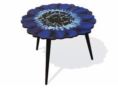Tavolino in HPL e faggio ANEMONE L - Flora