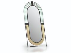 Specchio ovale in metallo con corniceANEMONIA - NATUZZI