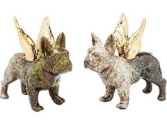 Soprammobile in porcellanaANGEL WINGS DOG - KARE-DESIGN