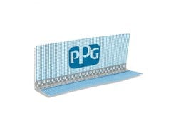 UNIVER, ANGOLARE IN PVC CON RETE Angolare di protezione spigoli