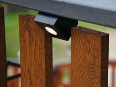Faretto per esterno a LED in alluminioANGOLO - BRILLAMENTI BY HI PROJECT