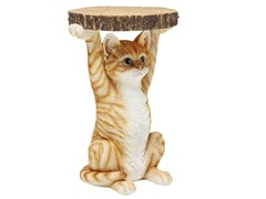 Tavolino di servizio rotondo ANIMAL MS CAT -