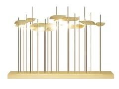 Lampada da tavolo fatta a mano in ottoneANODINE   Lampada da tavolo - PAOLO CASTELLI