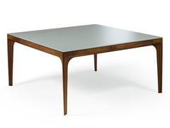 Tavolo quadrato in cristallo ANTEO | Tavolo in cristallo -