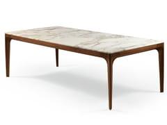 Tavolo rettangolare in marmo ANTEO | Tavolo rettangolare -