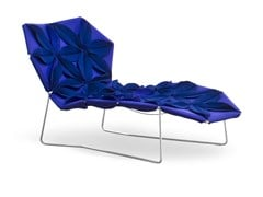 Chaise longue in tessuto ANTIBODI | Chaise longue - MOROSO