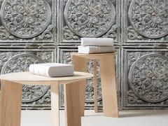 Carta da parati lavabile in vinile ANTIQUE TIN TILES (003) | Carta da parati - Tin Tiles