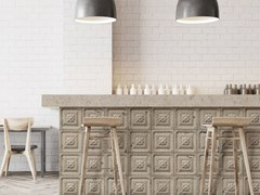 Carta da parati lavabile in vinile ANTIQUE TIN TILES (014) | Carta da parati - Tin Tiles