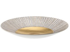 Centrotavola in porcellana ANTITHESIS ORO E PLATINO | Centrotavola - Antithesis Oro e Platino