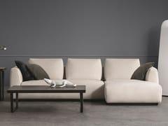 Divano componibile in tessuto con chaise longueANYWAY | Divano - BODEMA