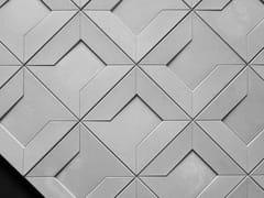Piastrelle con superficie tridimensionale in calcestruzzoAO | Rivestimento tridimensionale - BENTU DESIGN