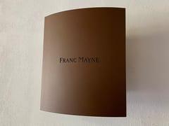 Applique per esterno a LED in acciaio con vernice epossidica AP 010 Franc Mayne -