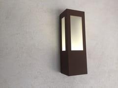Lampada da parete per esterno a luce diretta in acciaio con vernice epossidicaAP 011   Applique per esterno a LED - ARALIA - LYX-LUMINAIRES