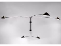 Lampada da parete orientabile in metallo AP5B | Lampada da parete -