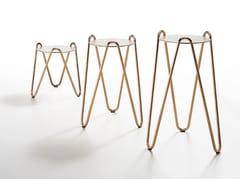 Tavolino rotondo in ceramicaAPELLE CHIC | Tavolino - MIDJ