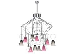 Lampadario a LED a luce direttaAPOLLO | Lampadario - COMPAGNIE DES CRISTALLERIES DE SAINT LOUIS