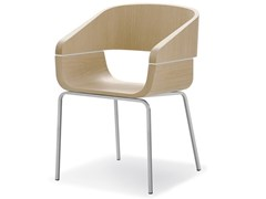 Sedia in legno APPLE 760 - Apple