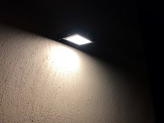 Applique per esterno a LED ad energia solare in acciaio con vernice epossidicaAPS 010   Applique per esterno - ARALIA - LYX-LUMINAIRES