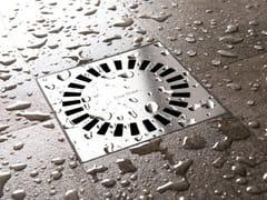 Scarico per doccia in acciaio inoxAQUA BRILLIANT - EASY SANITARY SOLUTIONS