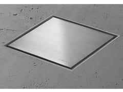 Scarico per doccia in acciaio inoxAQUA JEWELS QUATTRO   Scarico per doccia in acciaio inox - EASY SANITARY SOLUTIONS
