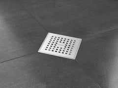 Scarico per doccia in acciaio inoxAQUA PLUS QUATTRO - EASY SANITARY SOLUTIONS