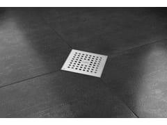 Scarico per doccia in acciaio inoxAQUA QUATTRO - EASY SANITARY SOLUTIONS