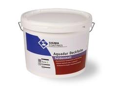 Finitura elastomerica per la manutenzione delle facciate cavillate e/o fessurateAQUADUR DECKFARBE SEIDENMATT - SIGMA COATINGS
