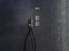 Comando miscelatore ad incasso filo-muro con luce AQUALITE | Comando remoto a muro - AQUALITE