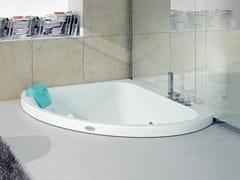 Vasca da bagno angolare idromassaggio da incassoAQUASOUL CORNER 140 | Vasca da bagno da incasso - JACUZZI® EUROPE