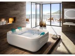 Vasca da bagno centro stanza idromassaggio con cromoterapiaAQUASOUL EXTRA | Vasca da bagno centro stanza - JACUZZI® EUROPE