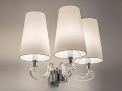 Lampada da parete a luce diretta e indiretta in cristallo con braccio fisso ARABIAN PEARLS W3   Lampada da parete - Arabian Pearls
