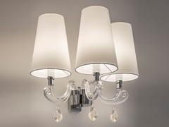Lampada da parete in cristallo con braccio fisso con cristalli Swarovski® ARABIAN PEARLS W3   Lampada da parete con cristalli Swarovski® - Arabian Pearls