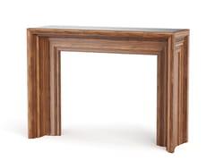 Consolle rettangolare in legno impiallacciatoARBOR - DOORWAY